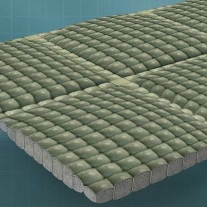 Fabric Formed Flexible Hinged PP Concrete Revetment Mattress