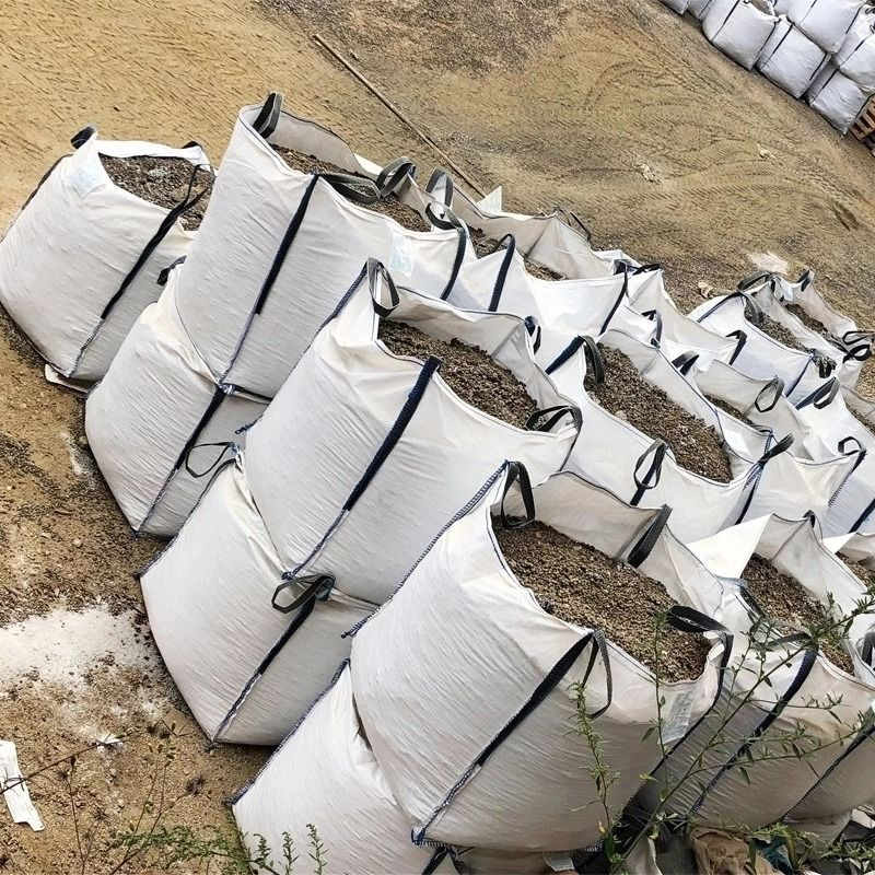 Fertilizer Sugar Flexible Fibc PP Jumbo Bags 1000kg